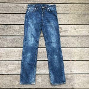 Ralph Lauren Denim & Supply Distressed Jeans